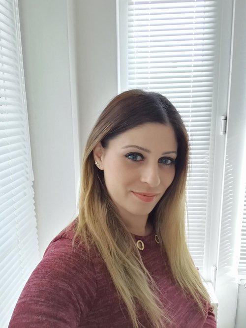 Fotografia de rumina, Chica de 29 años