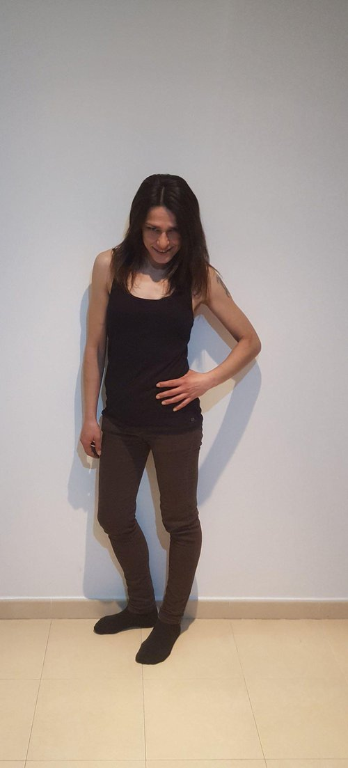 Fotografia de bruja, Chica de 41 años